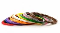 Набор пластика ABS-12 (по 10м. 12 цветов в коробке)