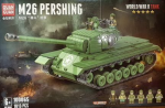 """Конструктор """"Танк"""" M26 100065  (1013 деталей) Першинг М26"""