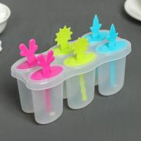 Форма для мороженого «Сказка», 6 ячеек, цвет МИКС
