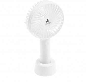 Персональный вентилятор LuazON LVU-04, 3 скорости, 800 мАч, белый   4601768