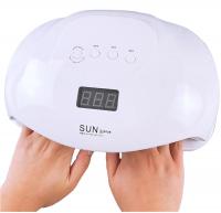 Гибридная лампа для полимеризации гель лака SUN plus UVLED 2 IN 1 72Вт