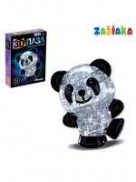 "ZABIAKA пазлы 3D ""Панда"", 53 детали МИКС №SL-7012А 121853"