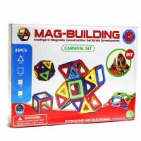 Магнитный конструктор Mag Building 28 деталей