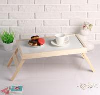"""Столик для завтрака складной """"Руссо"""", 50×30см 4962991"""