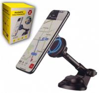 Магнитный держатель для телефона на панель на присоске MAGNETIC MOBILE PHONE BRACKET