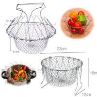 Складная решетка Шеф Баскет (Chef Basket) для приготовления пищи