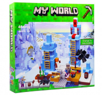 КОНСТРУКТОР MY WORLD 826 (454 детали) Ледяные шипы