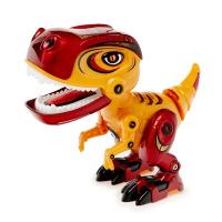 """Робот """"Минизаврик"""", реагирует на прикосновение, световые и звуковые эффекты, цвета МИКС   4431552"""