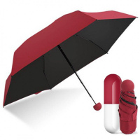 Мини зонт в капсуле