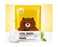 Тканевая очищающая маска для лица с экстрактом зеленого чая Bioaqua