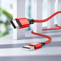 Кабель USB - Type-C BOROFONE BX54 1m силиконовый Red1