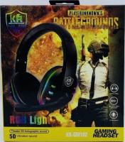 Наушники с микрофоном проводные GAMING HEADSET RGB LIGHT  KR-GM102