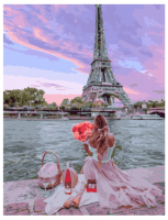 Картина по номерам GX 32007 Приятный парижский пикник 40*50