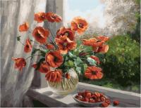 Картина по номерам PK 79021 Летние краски (Воробьёва Ольга) 40*50 Эксклюзив