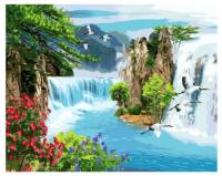 Картина по номерам GX 37899 Потрясающие водопады 40*50