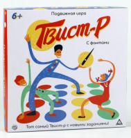 Подвижная игра «Твистер»