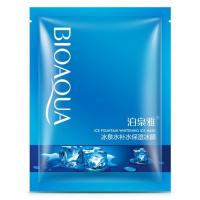 Тканевая маска для лица с родниковой водой Bioaqua