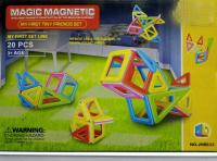 Магнитный конструктор JH8633 (20 деталей)