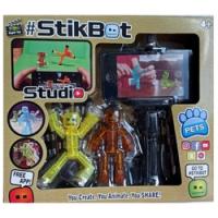 StikBot студия с подставкой для телефона (3 героя) JM07A