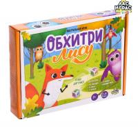 """Настольная игра-бродилка """"Обхитри лису""""   4668308"""