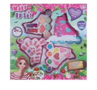Набор для девочек Ролики ( 7 блеск для губ, 3 аппликатора, 1 пилка, 12 накладных ногтей, 6 т 3750718