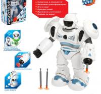 """Робот """"GRAVITONE"""", световые и звуковые эффекты, работает от батареек, цвета МИКС, №SL-02653  4518074"""
