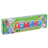 """Домино """"Лесные Зверята"""" 1698586"""