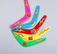 Бумеранг «Суперсила», 30 см, цвета МИКС