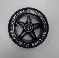 Колеса д/трюкового самоката 110мм, аллюминиевая ступица+подшипник