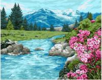 Картина по номерам GX 39208 Реки и горы 40*50