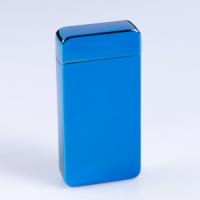 Зажигалка электронная в подарочной упаковке, USB, дуговая, цвет морской волны, 8.5х12 см 2768063