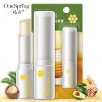 Гигиеническая помада для губ с мёдом One Spring