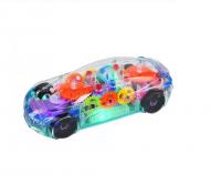 """Детская светящиеся прозрачная машинка """"Control Racing"""""""