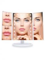 Зеркало для макияжа складное с подсветкой