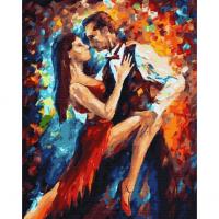 Картина по номерам 40*50 см, Блеск танго