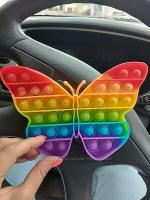 Тактильная игрушка антистресс POP IT бабочка