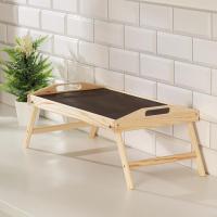 Столик для завтрака складной, 50×30см, с ручками 1536922