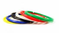Набор пластика PLA-6 (по 10м. 6 цветов в коробке)
