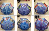 Зонтик детский №2021-35 полуавтомат/c свистком/8спиц/d-50