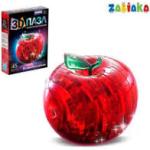 "ZABIAKA пазлы 3D ""Яблоко"", 45 деталей, 2 цвета №SL-7002B 121867"