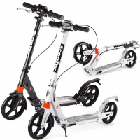 Самокат Urban Scooter, колеса 200мм, 2 амортизатора.
