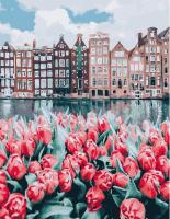 Картина по номерам GX 25449 Весенний Амстердам 40*50
