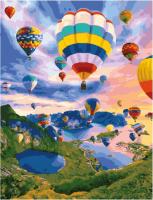Картина по номерам GX 34502 Полеты на воздушных шарах 40*50