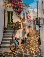 Картина по номерам GX 38422 Улочки Греции 40*50