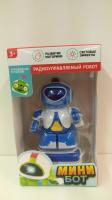 """Робот радиоуправляемый """"Минибот"""", световые эффекты, № SL-0072B 1588233"""
