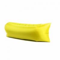 """Надувной диван """"LamzacФрут"""" (ламзак) жёлтый"""