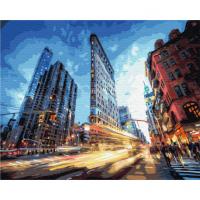 Картина по номерам 40*50 см, Мой Нью-Йорк