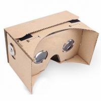 Очки виртуальной реальности из картона 3D VR Box от Google