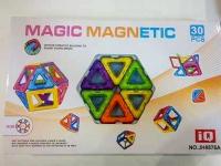 Магнитный конструктор JH8876 (18 деталей)