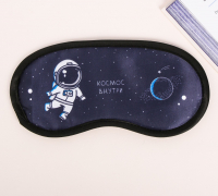 """Маска для сна """"Космос"""", 19,2 х 9,4 см   3877932"""